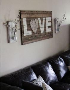 122 Cheap, Easy And Simple DIY Rustic Home Decor Ideas (63