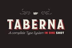 Taberna Family - Intro Offer 75% off by Latinotype on @Graphicsauthor