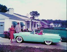 1950s house suburb | 1950s suburban life.
