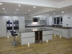 This quality Pronorm kitchen was installed in London
