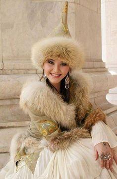Kazakistan TÜRK kızı
