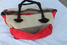 Corderito y gamuza con cuerdas en fieltro Bags, Cords, Lamb, Felting, Handbags, Taschen, Purse, Purses, Bag