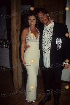 Celebrity Couples, Celebrity Pictures, Yasmine Bleeth, Going On A Date, Photo Library, First World, Breast Cancer, Album Covers, Globe