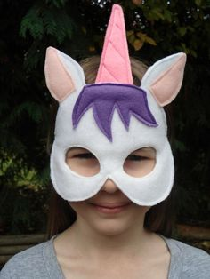 Unicorn Mask- cute for a My Little Pony Party
