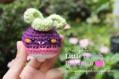 Little Radish-Rabanito Amigurumi Free pattern