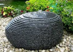 Image result for stone water feature