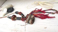 La Caverne Des Fées: un long collier tribal ethnique industriel .... : Collier par les-reves-de-minsy