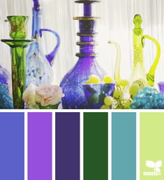 SO cool! Choose a color you love and they'll give you a coordinating color palette.
