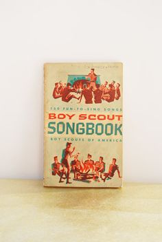 Vintage Boy Scout Songbook, Boy Scouts of America, Vintage Song Book, Music Book, Camping Songs, Sing Along, 1960s