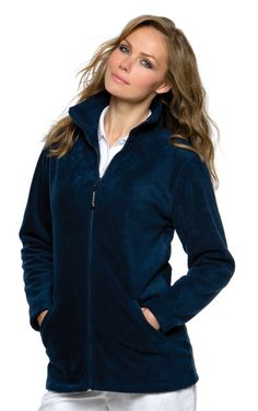 Grizzly Ladies' Full Zip Active Fleece      Straight hem and cuffs     Grizzly woven zip pulls     Full size zipped pockets for security     Also available in men's sizes, code KK903 Bargain at just £14.50