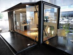 Eco Office: reciclaje de container maritimo como oficina movil. https://www.facebook.com/estudio.whynot