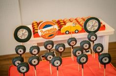 tire cake pops