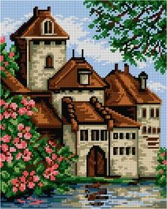 1 million+ Stunning Free Images to Use Anywhere Cross Stitch House, Cross Stitch Kitchen, Beaded Cross Stitch, Cross Stitch Embroidery, Cross Stitch Designs, Cross Stitch Patterns, Crochet C2c Pattern, Pixel Art Templates, Pottery Painting Designs