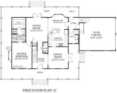 five bedroom house plans two story | Unique House Floor Plans Two ...