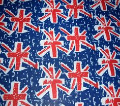 British Flag Stretch Mesh fabric stretchy lace see by TheLeggers