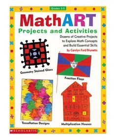 Look what I found on #zulily! Math ART Projects & Activities Paperback by Scholastic Teaching Resources #zulilyfinds