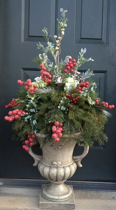 Urn inserts holiday style