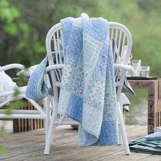 Quilt Toscana, blå