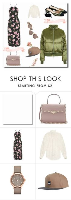"""""""Trend 2017- layer the puffer with a dress and top"""" by peeweevaaz ❤ liked on Polyvore featuring Valentino, Topshop, Zimmermann, Marc by Marc Jacobs, Billabong, Miu Miu, outfit, polyvoreeditorial, polyvorefashion and puffer"""