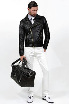 Angelo Galasso Men's RTW Spring 2013 #fashion