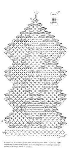Super Ideas For Knitting Crochet Table Runner Filet Crochet, Crochet Motifs, Crochet Stitches Patterns, Doily Patterns, Crochet Chart, Thread Crochet, Lace Knitting, Crochet Doilies, Knitting Patterns