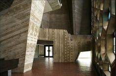 St. John's Abbey Church by Marcel Breuer in Collegeville, Minnesota