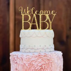 Baby Shower Cake TopperBaby Shower Decorations by MommyGotTalent