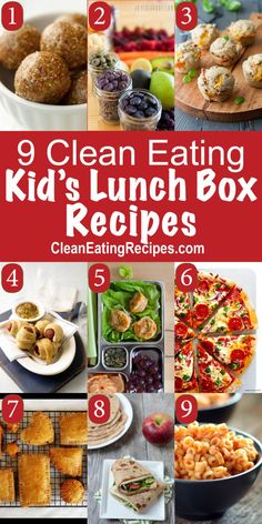Clean Eating Lunch box Ideas clean eating lunch ideas