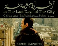 Last Days of The City Movie - Typography & Web Concept