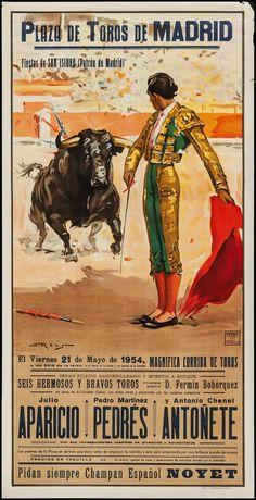 Spanish Bullfighting Posters (Ortega Valencia, c.1970s).   Lot #53464   Heritage Auctions