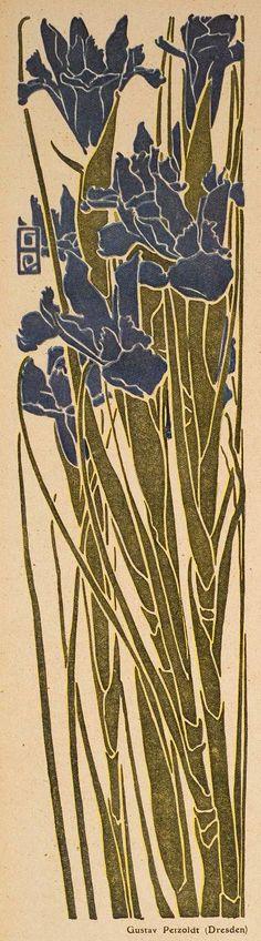 Jugend magazine illustration by Gustav Perzoldt, 1910