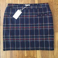 Tulle Plaid Skirt Super cute plaid skirt, new with tags, size large Tulle Skirts Mini