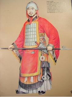 Ancient Chinese Army Uniforms - Western Zhou Dynasty (1100BC-771BC)