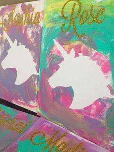 Unicorns and Rainbow Birthday Party Ideas # unicorns # birthday party .- Unicorns and Rainbow Birthday Party Ideas # unicorns Diy Unicorn Birthday Party, Rainbow Unicorn Party, Rainbow Birthday Party, Birthday Party Games, Unicorn Birthday Parties, Birthday Party Decorations, Birthday Crafts, Birthday Ideas, Rainbow Party Games