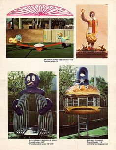 Old School McDonald's Playground | ... or playing in their hometown s old school retro mcdonald s playground