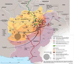 The most important parts of the Afghan War, in one map: The Afghanistan War is extremely complicated, but this map does a remarkable job of capturing the most important components