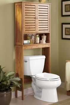 Bamboo bathroom on pinterest bamboo shelving units and - Banos chicos ...
