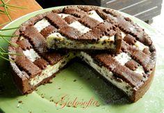 Crostata al cacao con ricotta e gocce di cioccolato-ricetta dolci-golosofia