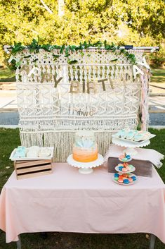 Boho birthday bash -