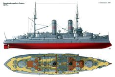 Russian Borodino-Class Battleship
