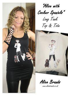 Alice Brands a un large éventail de correspondant Tops et sacs fourre-tout, avec nos propres conceptions uniques, pour le plaisir, les amateurs de chiens et des séances d'entraînement de remise en forme. Proposé à la vente partout dans le monde, produit e
