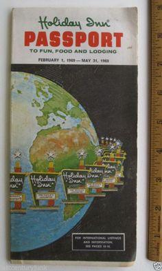 Holiday Inn Passport directory, 1969 https://plus.google.com/100640002349301570187/posts