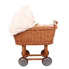 Moulin Roty Wicker stroller at alexandalexa.com  for Charlotte :)