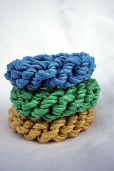 "DIY: designer-inspired ""straw"" bangles"