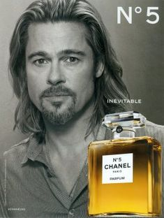 Chanel Fragrance Ad Campaign Mens № 5 Shot # Brad Pitt, hope u buy this for Angelina. Chanel Beauty, Beauty Ad, Perfume Adverts, Parfum Chanel, Best Perfume, Clint Eastwood, Vintage Perfume, Brad Pitt, Gorgeous Men