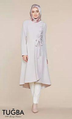 Tugba and Venn Muslim Women Fashion, Modern Hijab Fashion, Islamic Fashion, Abaya Fashion, Modest Fashion, Fashion Dresses, Fashion Pants, Modest Dresses, Modest Outfits