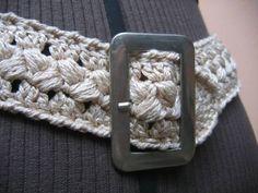Toda Moderna: Como fazer cinto de crochê - Passo a passo em vídeos