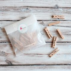 Mini Wood Clothespins  Party and Craft Supplies  The by shoptomkat