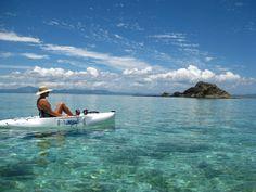 Kayaking Fiji