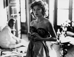 'FRENCH ICONS' -- Anouk Aimée. 'Lola' was one of the original sexpots.